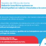 Registro de Oficios de Monte