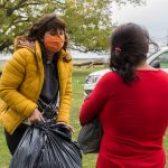 """Entrega de Donaciones de campaña """"Un Abrigo"""""""