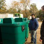 Nuevos contenedores de basura