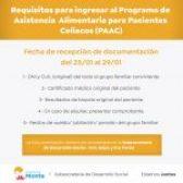 Programa de asistencia para pacientes celíacos