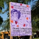 Homenaje a Victimas de Violencia de Género